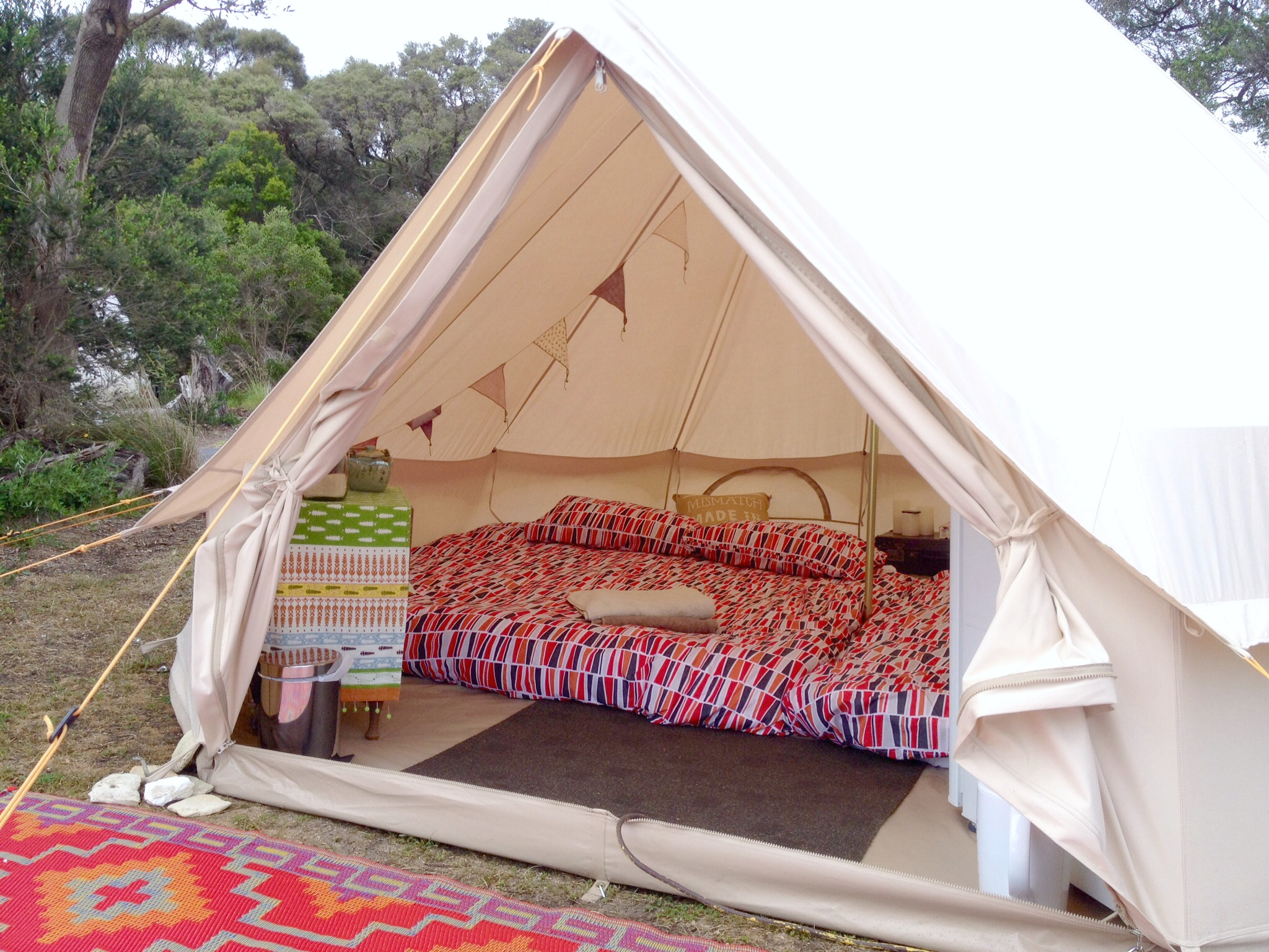 Bell Tent Hire Gl&ing Mornington Peninsula Happy Gl&er & Bell Tents gallery - Happy Glamper