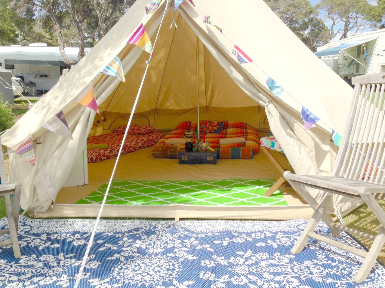 5m Bell Tents & Bell Tents gallery - Happy Glamper