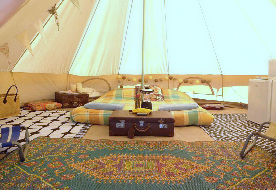 Bell Tent Decor Impressive Bell Tents Gallery  Happy Glamper Decorating Inspiration