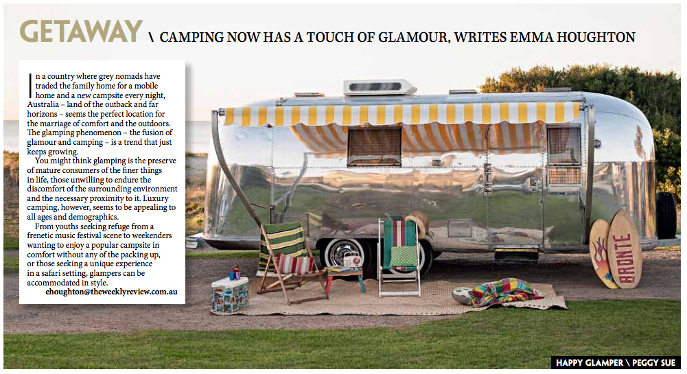 1502 The Weekly Review - Happy Glamper feature, page 1