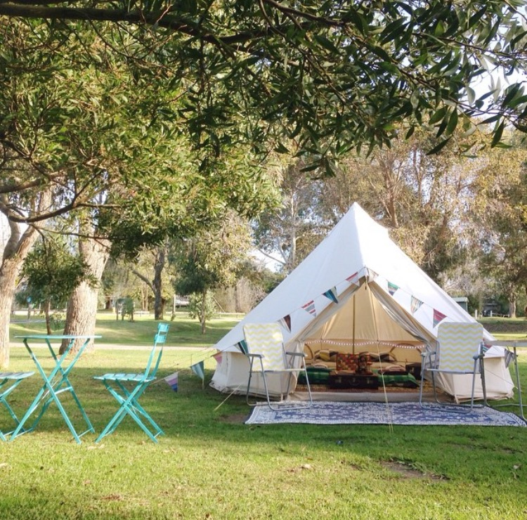 Once confirmed you will need to bookand pay for your c& site separately to your gl&ing hire. Here are our recommended c&grounds. & Bell Tents - Happy Glamper