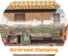 Airstream Glamping coin